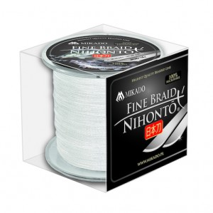PLECIONKA NIHONTO FINE BRAID WHITE 0,45mm/300m