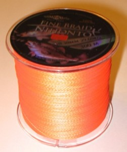 PLECIONKA NIHONTO FINE BRAID  ORANGE  0,16mm/300m