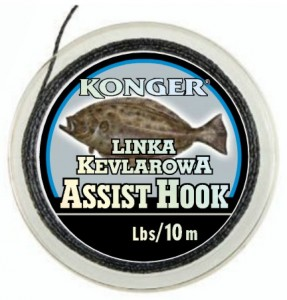 LINKA KEVLAROWA ASSIST HOOK 250lbs/10m