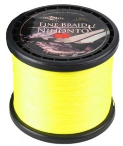 PLECIONKA NIHONTO FINE BRAID FLUO 0,40mm/900m