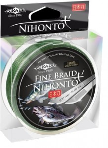 PLECIONKA NIHONTO FINE BRAID GREEN 0,45mm/150m