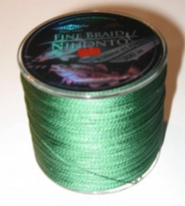 PLECIONKA NIHONTO FINE BRAID GREEN 0,50mm/300m